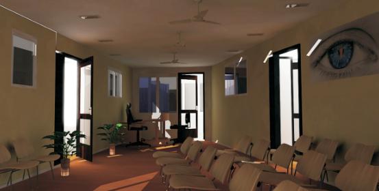 Eye Care Center Reception View